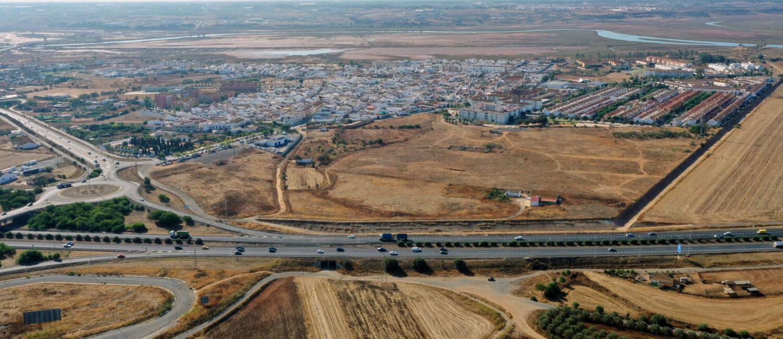 Imagen área de San Juan del Puerto
